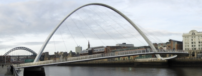Gateshead Millennium Footbridge