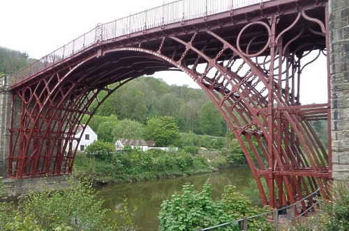 The Iron Bridge over the River Seven at Coalbrookdale